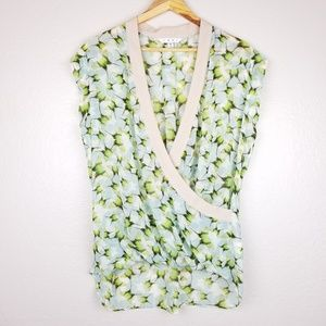 Cabi Butterfly Wrap Top